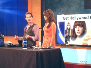 Hollywood beauty tips with Billy Lowe Gloss & Toss.
