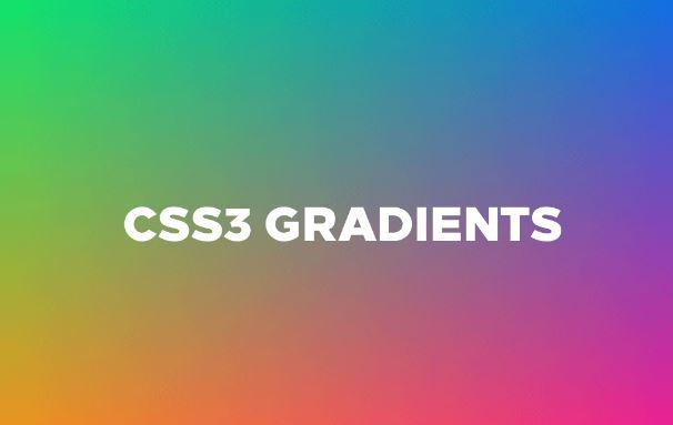 Cara Membuat Gradients pada css3 - Web Desain