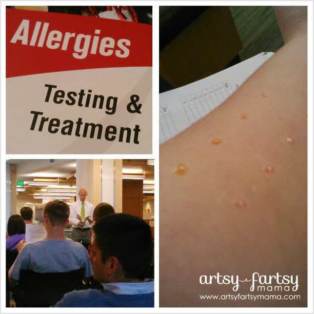 Allergy testing with University of Utah Health Care