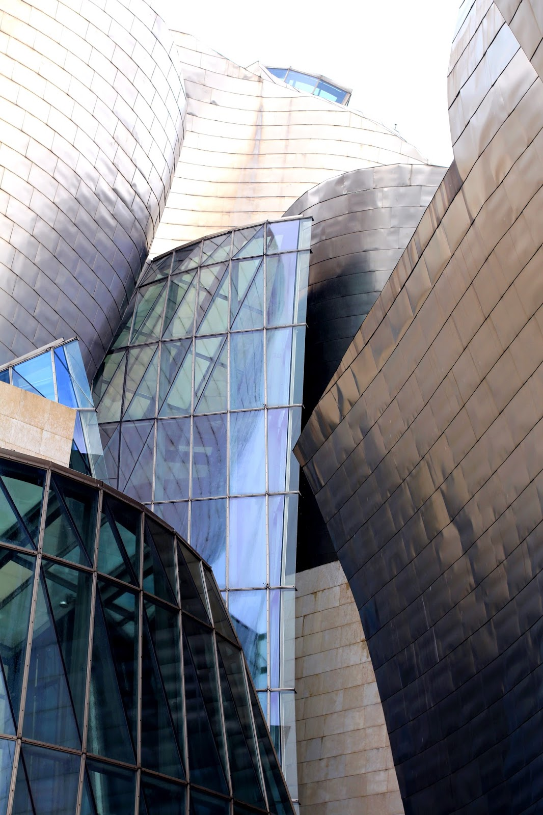 Guggenheim exterior in Bilbao, Spain - London travel blog