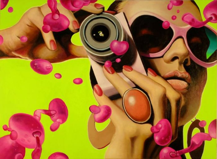 Немецкий художник. Manzur Kargar