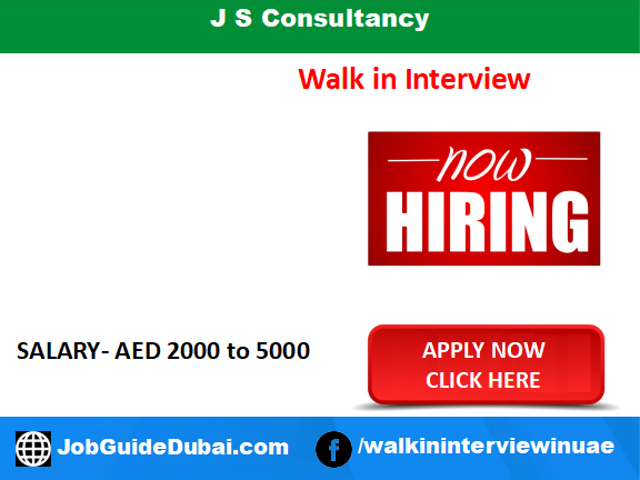 JS Consultancy career for housekeeping attendant and cleaner jobs in Dubai UAE