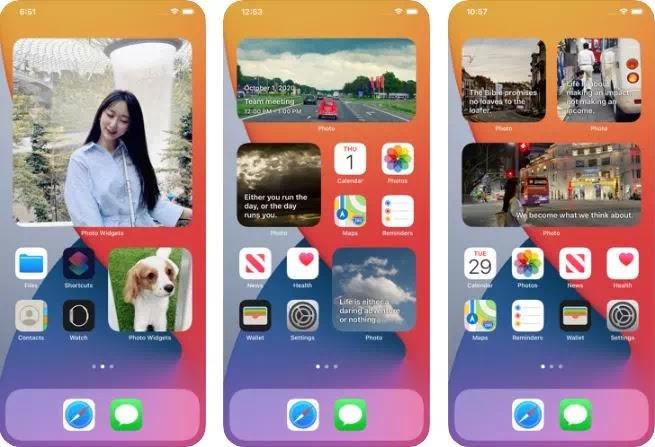 Aplikasi Widget Foto Gratis Terbaik di iPhone (iOS 14)-4