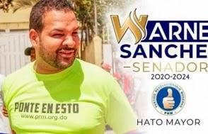 Dejan en libertad a Warner Sánchez porque no había orden de arresto en su contra