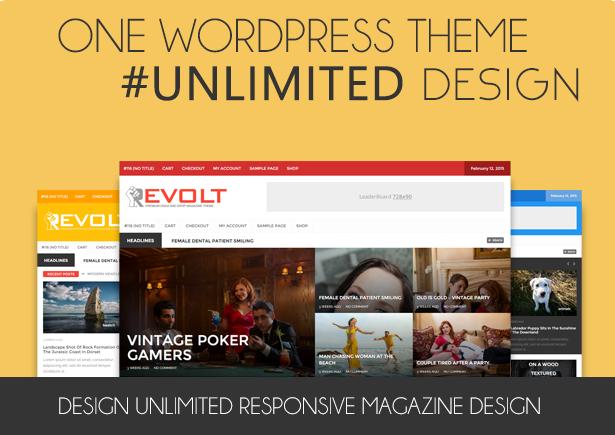 Revolt - Multipurpose WordPress Magazine Theme - 1