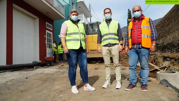 Los Llanos de Aridane comienza las obras de acondicionamiento de acceso a Los Barros
