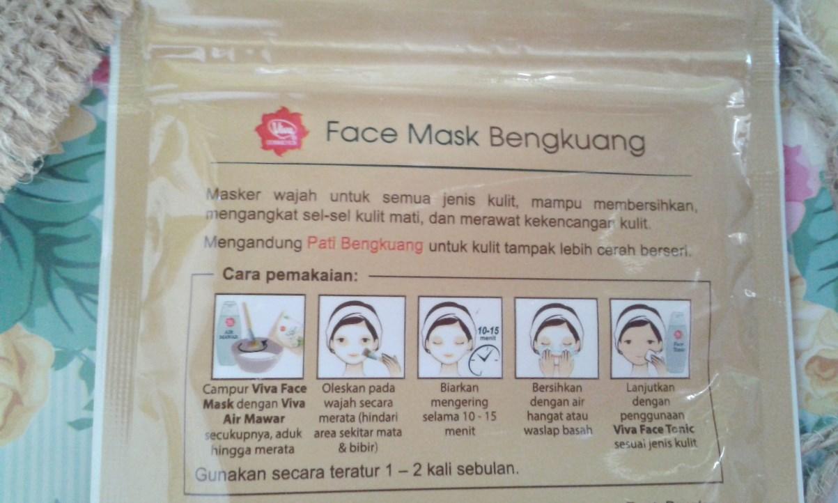 Review Viva Cosmetics Face Mask Bengkuang Fastabiqul Khoirots Air Mawar Campur Dengan Secukupnya Aduk Hingga Merata