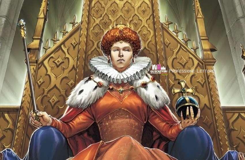 Da Mondadori Comics, Elisabetta I a fumetti
