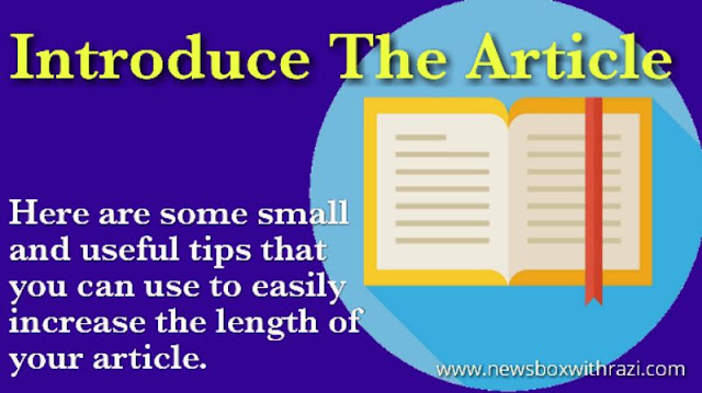 10 best ways to increase the length of your article2.