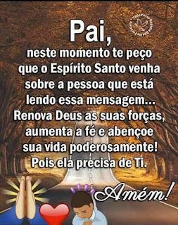Mensagem de Boa Noite Deus Nosso Pai