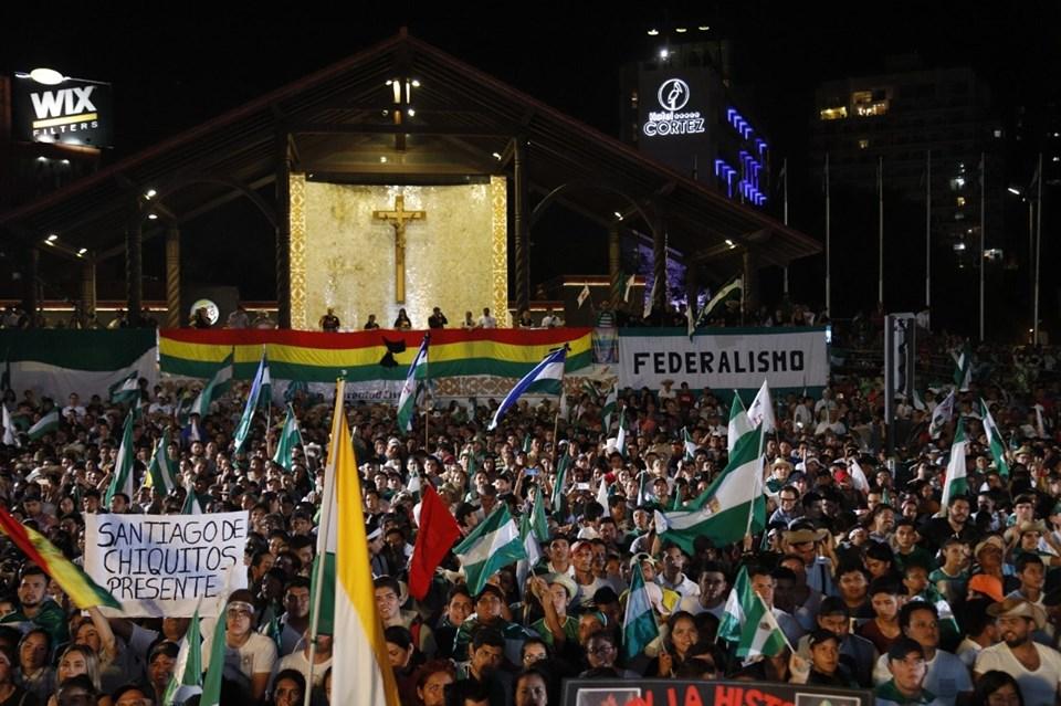 El cabildo del viernes puede ser el inicio para la transformación estatal del sistema en Bolivia / COMITÉ PRO SANTA CRUZ
