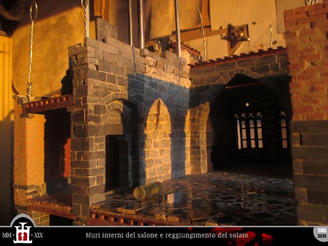 Innalzamento muri interni del salone
