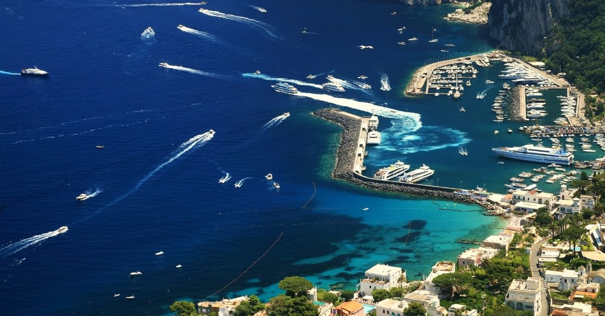 Capri Island - Turquoise Beaches And Celebrity Destination - Unique designs - Moniedism