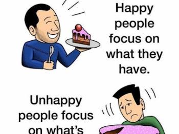 Wordless Wednesday #1/2020 - Happy vs unhappy