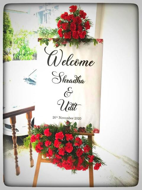wedding board decoration work in kerala