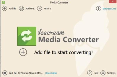 IceCream Media Converter