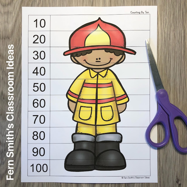 Click Here to Download This Fire Safety Counting Puzzles Resource for Your Students Today!