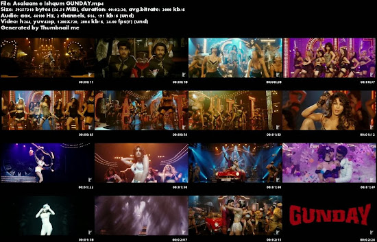 Asalaam e Ishqum - Gunday (2014) Full Music Video Song Free Download And Watch Online at worldfree4u.com