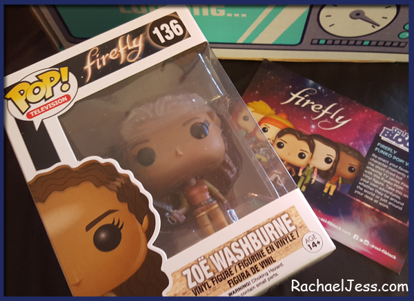 Firefly POP in December's Nerd Block sci fi box