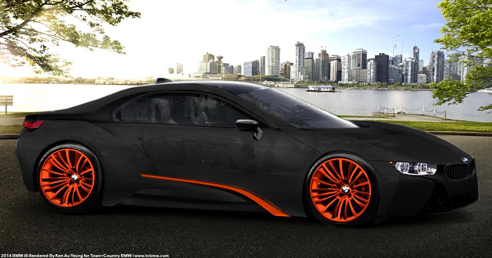 New Bmw I8 Coupe Production Renders Bmw Markham