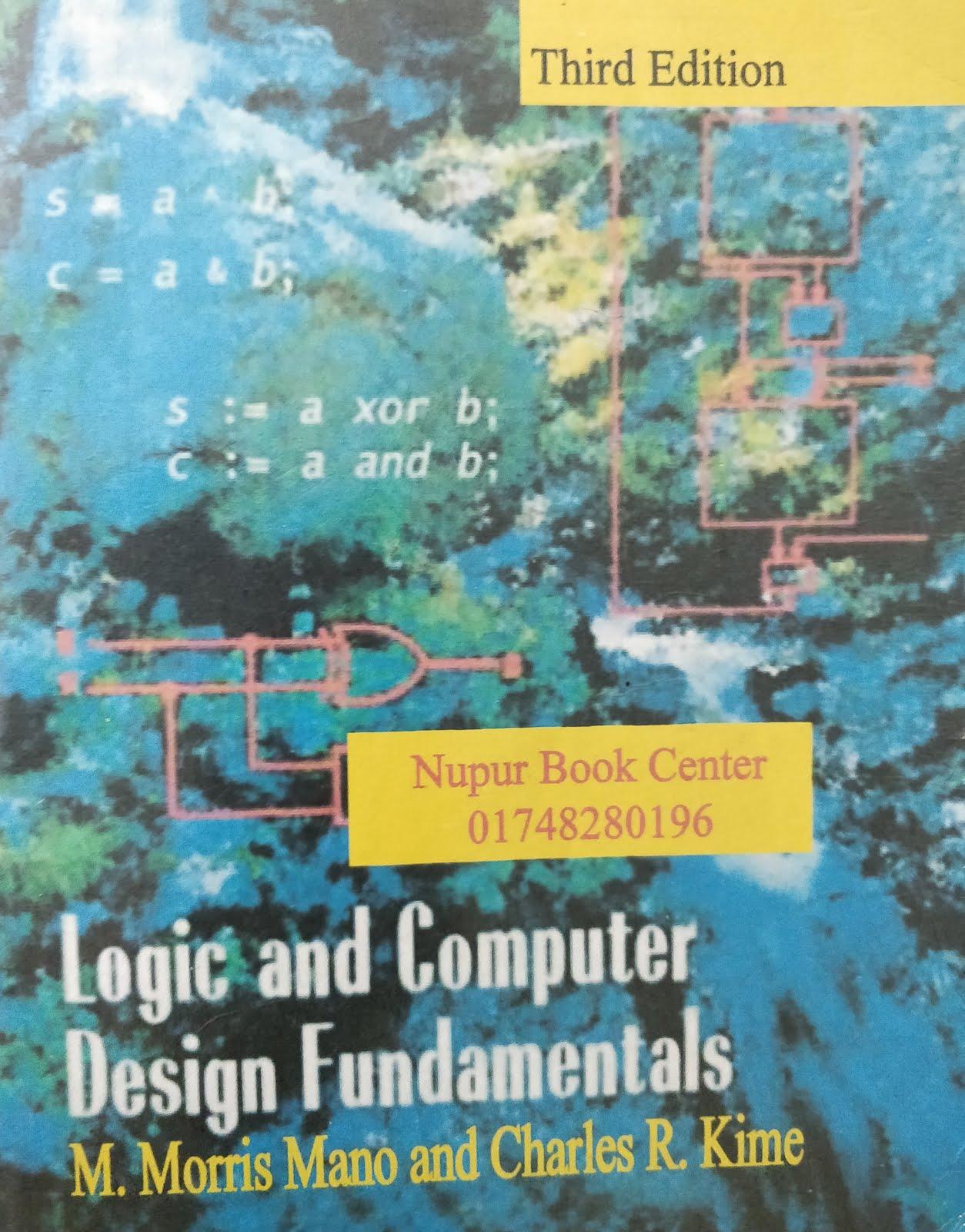 Digital Logic and Design fundamental (SOLUTION MANUAL) (DLD)-Morris mano  3rd edition