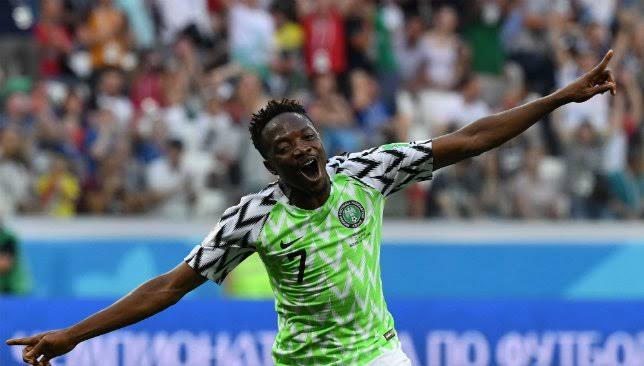 Style of play influences a coach decision and not performance - Ahmed Musa
