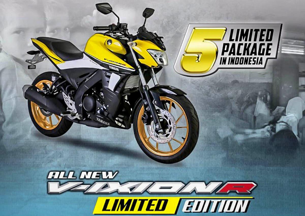 Dijual dengan jumlah yang sangat terbatas, Yamaha akan luncurkan New Vixion R Limited Edition #vixionR_1dekade