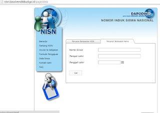 Cara Melihat Nomor Induk Siswa Nasional | NISN