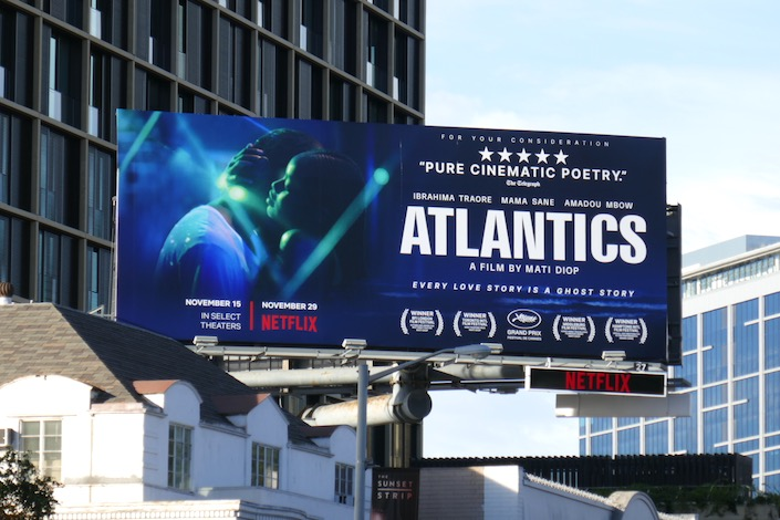 Atlantics film FYC billboard