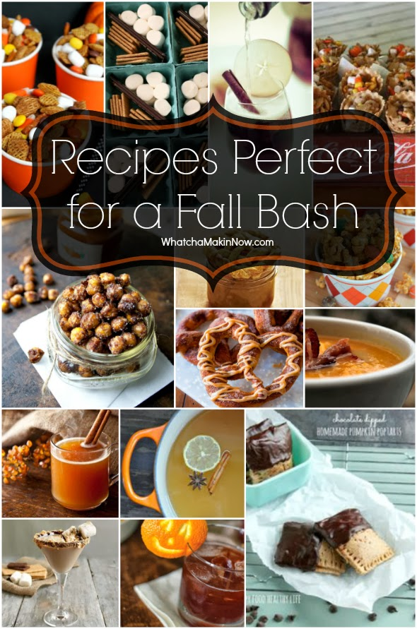 round up of recipes perfect for any fall party!