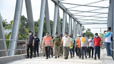 Jembatan Watu Dibuka Besok, Gubernur NA Resmikan Langsung