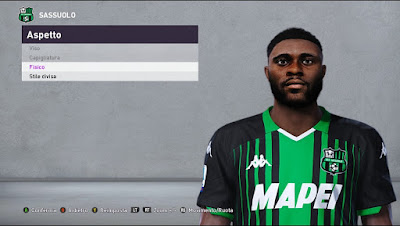 PES 2020 Faces Jeremie Boga by Andò12345