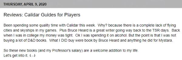 Reviews Calidar