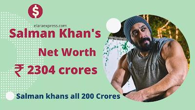 Salman khans net worth 2021