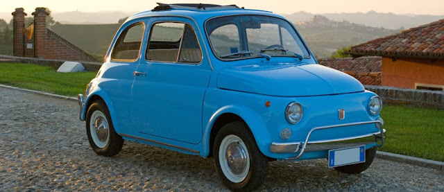 Fiat 500 1950s Italian classic car