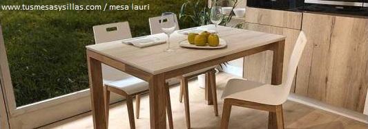 6 mesas en medida de 120x70 cm de cocina de comedor