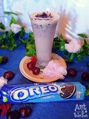 Milkshake Κεράσι με μπισκότα Oreo