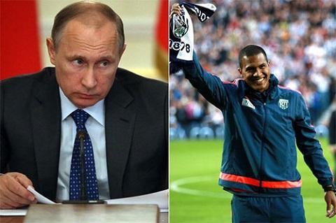 Điều luật mà Putin ký phê chuẩn khiến Zenit phải bán Rondon và West Brom được hưởng lợi