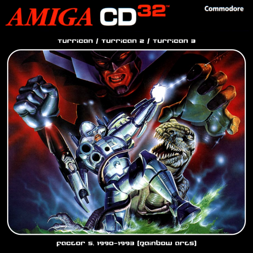 RGCD: Turrican Collection CD32 (Amiga CD32) [Keyboard Required]