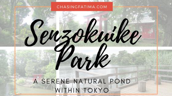 Senzokuike Park Blog Banner