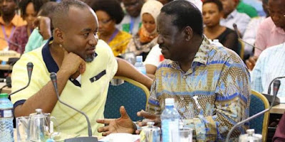 Raila Odinga and Joho