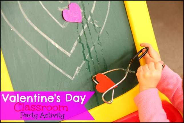 Valentine's Day Activities and Games can incorporate sensory play.