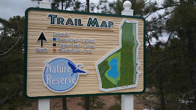Egg Harbor Township Nature Reserve Trail Map