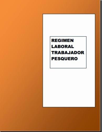 Legislaci n laboral peruana manual r gimen laboral pesquero - Trabajos manuales remunerados ...