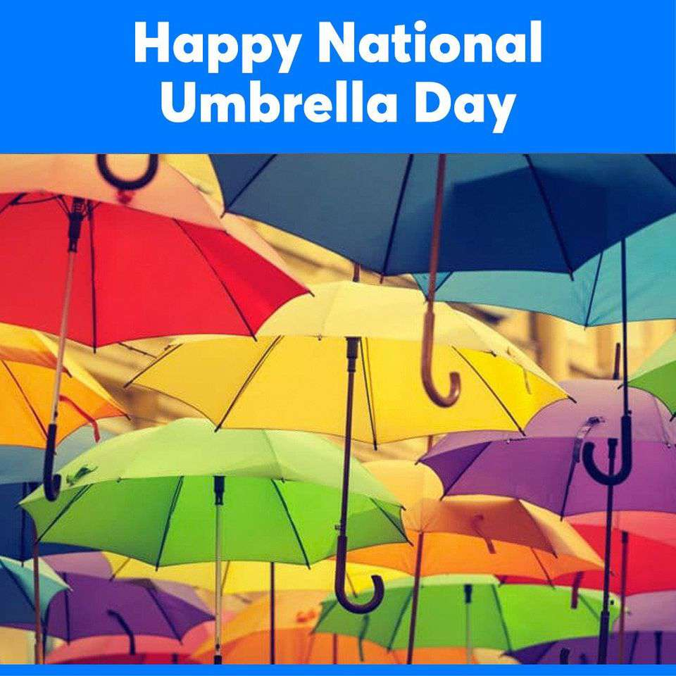 National Umbrella Day Wishes Pics