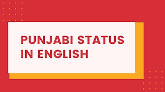 Punjabi Status in English  , Punjabi Status
