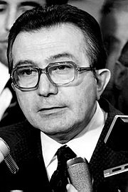 Ex-premier Giulio Andreotti was named in Messina's testimony