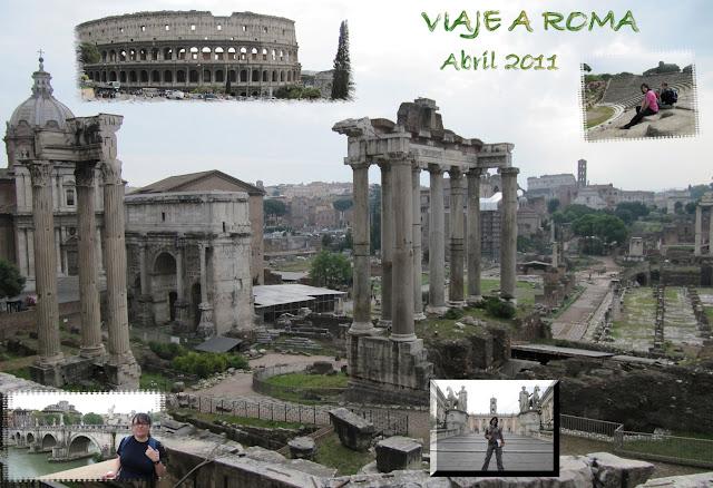 Crónica general viaje Roma abril 2011
