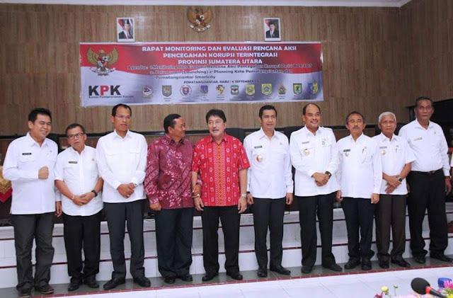 KPK Tegaskan Pemko Siantar Harus Terapkan Era Keterbukaan dan Cegah Korupsi