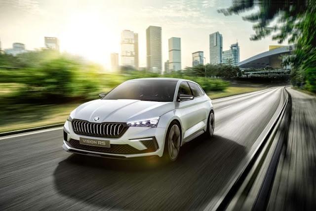 Concepts, Hot Hatch, Hybrids, Paris Auto Show, PHEV, Skoda, Skoda Concepts, Skoda RS, Skoda Videos, Video